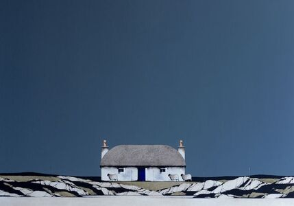 Ron Lawson, 'South Uist Thatched Cottage', 2020