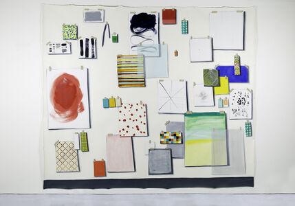 Lisa Milroy, 'Samples', 2017
