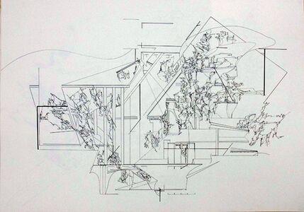 Yukari Bunya, 'Drawing - Looking at the Scenery Alive 2', 2009