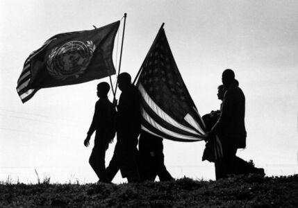 James Karales, 'Selma to Montgomery March, Alabama', 1965