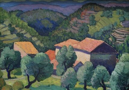 Houghton Cranford Smith, 'La Gaude, France, Orchard', 1925