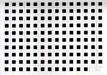 Stephen Willats, 'Democratic Grid No. 11', 1990