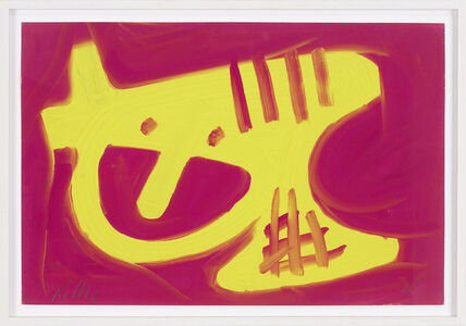 Richard Allen Morris, 'Tempera on paper', 1965