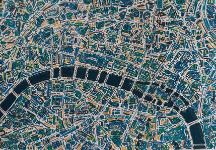Barbara Macfarlane, 'Paris Dark Emerald, Prussian Blue', 2020