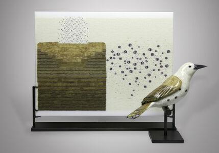 Marc Petrovic, 'Avian Deconstruction Tablet and Bird Pair', 2020