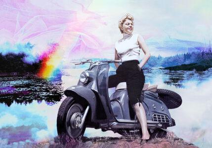 Maya Eizin Öijer, 'Mot Framtiden (Into The Future)', 2009