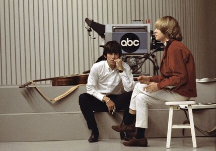 Jean-Marie Périer, 'Keith Richards and Brian Jones, Los Angeles, April 1967'