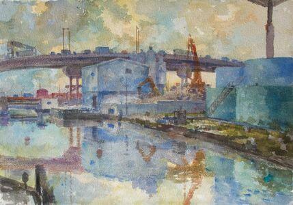 Derek Buckner, 'Oil Tanks'