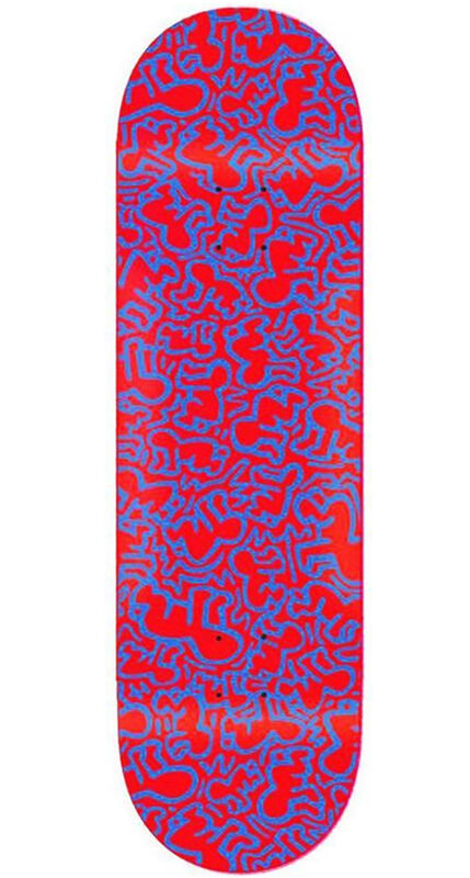 Keith Haring, 'Keith Haring Radiant Baby Skateboard Deck ', 2013, Design/Decorative Art, Silkscreen on maple wood skate deck, Lot 180