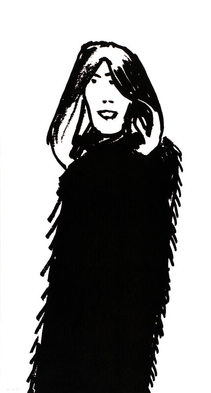 Alex Katz, 'Shopper #16', 2015, Print, 1-color silkscreen on Saunders Waterford 425 gsm paper, Haw Contemporary
