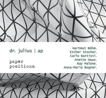 dr. julius | ap at PAPER POSITIONS, installation view