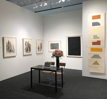 F.L. Braswell Fine Art at Art on Paper New York 2019, installation view
