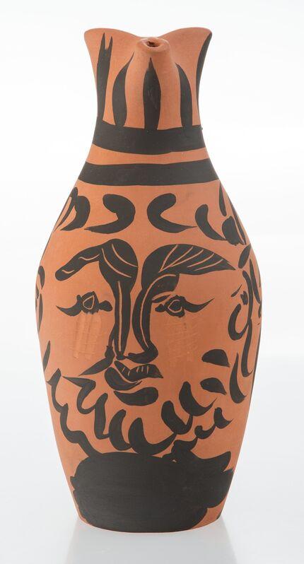 Pablo Picasso, 'Yan barbu', 1963, Design/Decorative Art, Terre de faïence pitcher, with partial hand painting, Heritage Auctions