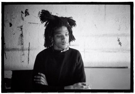 Roland Hagenberg, 'Basquiat melancholic', 1983