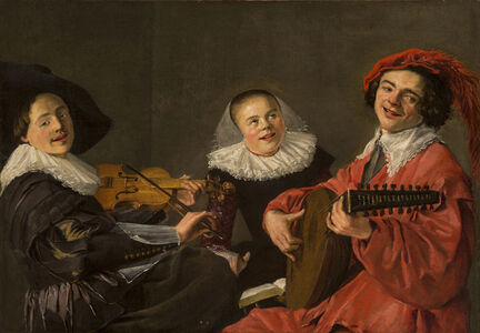 Judith Leyster, 'The Concert', ca. 1633