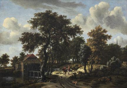Meindert Hobbema, 'The Travelers', ca. 1662