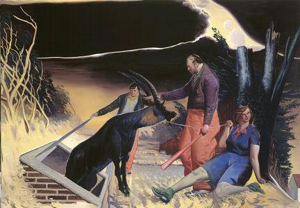 Neo Rauch, 'Auftrieb', 2003