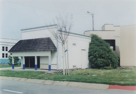 Miles Coolidge, 'Commercial Buildings (rear view), from Safetyville', 1994–1996