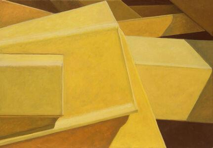 Altoon Sultan, 'Yellow Tilts', 2017