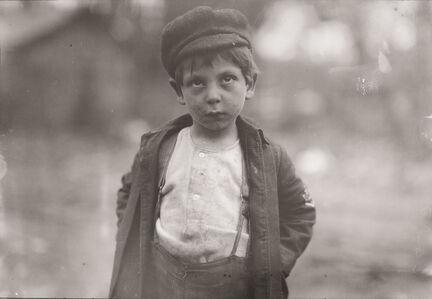 Lewis Wickes Hine, 'Street Kid, New York City, New York', ca. 1910