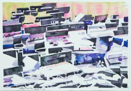 Li Yiwen 李易紋, 'Congregation-2', 2018