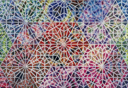 Philip Taaffe, 'Cairene Window I,', 2008