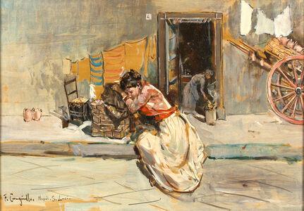 Francesco Cangiullo, 'After work'
