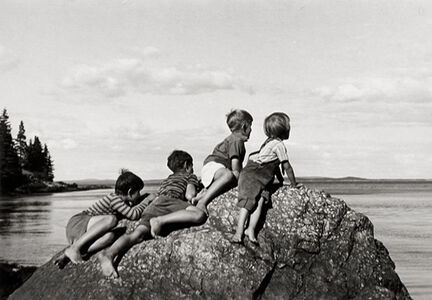 Ellen Auerbach, 'Great Spruce Head Island, Maine', 1940