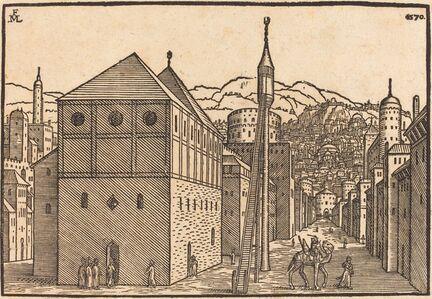 Melchior Lorch, 'Turkish Town', 1570