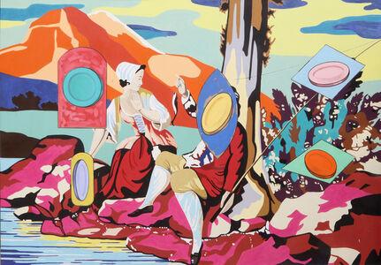 David Salle, 'Untitled - Pastoral', 2001