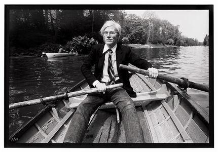 Christopher Makos, 'Andy Warhol Row Boat', 1982 / 2020