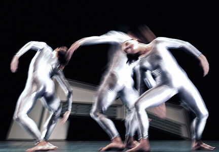 "Mikhail Baryshnikov, 'Looking for the Dance, Untitled #20 Merce Cunningham Dance Company in ""eyeSpace"" by Merce Cunningham', 2008"