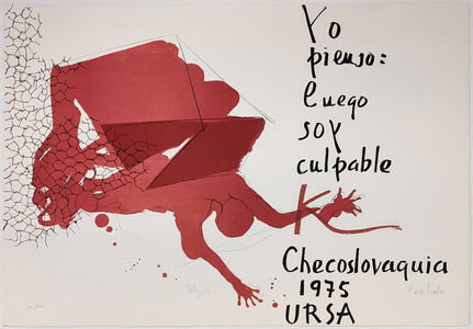 Paul Rebeyrolle, 'UNTITLED (FROM POEMAS PARA MIRAR PORTFOLIO)', 1975
