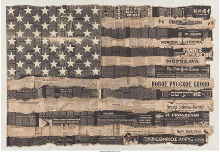 Massimo Vignelli, 'Melting Pot 1976 (The United States is the Melting Pot, or Meltin Pot of America)', 1989
