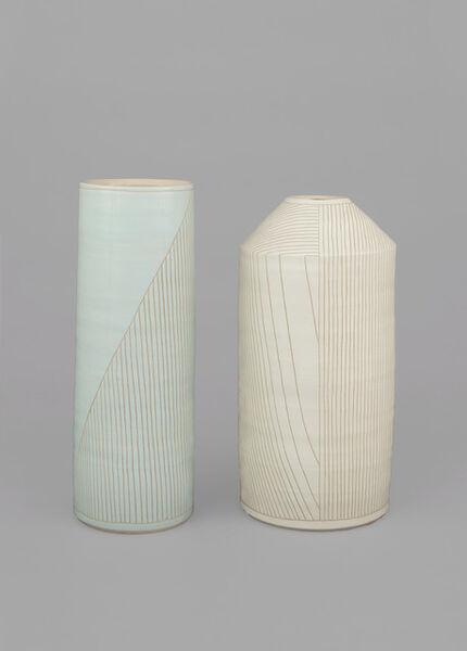 Shio Kusaka, 'On left: (line 68), On right: (line 67)', 2017