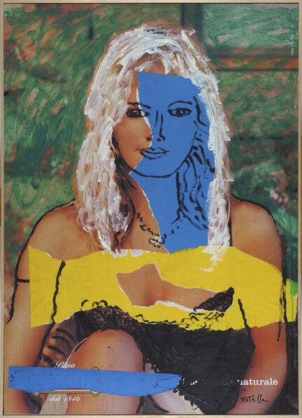Mimmo Rotella, 'Naturale', 2002