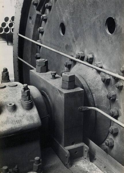Albert Renger-Patzsch, 'Industrial study (turbine)', ca. 1920