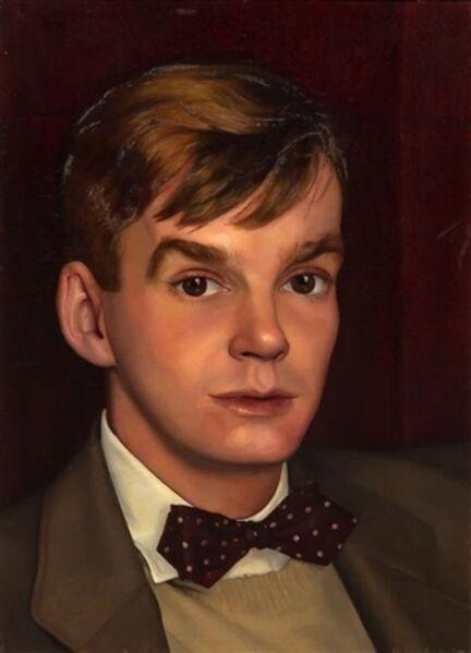 Luigi Lucioni, 'Portrait of a Young Man', 1942