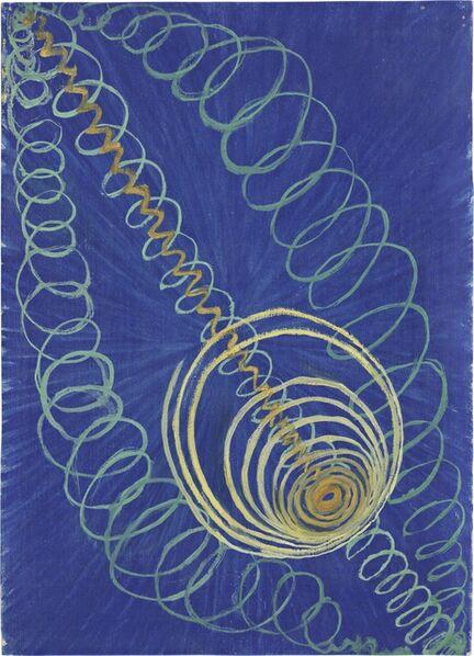 Hilma af Klint, 'Group I, Primordial Chaos, No. 16 (Grupp 1, Urkaos, nr 16), from The WU/Rose Series (Serie WU/Rosen)', 1906-1907