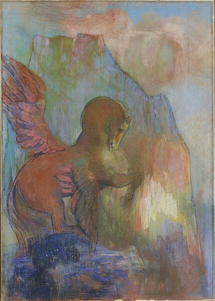 Odilon Redon, 'Pégase', ca. 1895