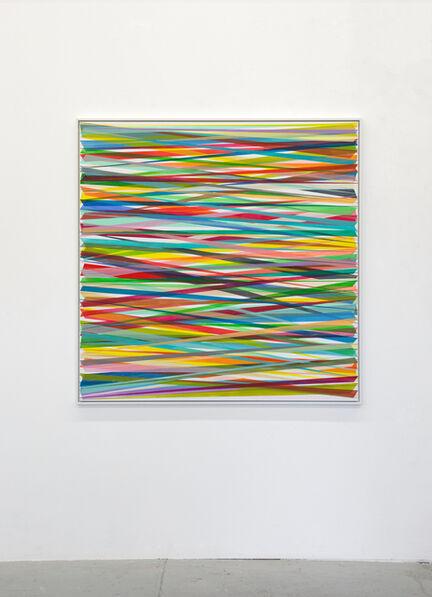 Beat Zoderer, 'Horizontales Zig-Zag No. 9', 2019
