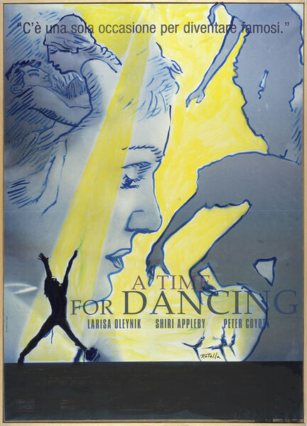 Mimmo Rotella, 'Dancing', 2003