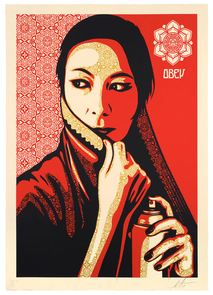 Shepard Fairey, 'Commanda', 2019
