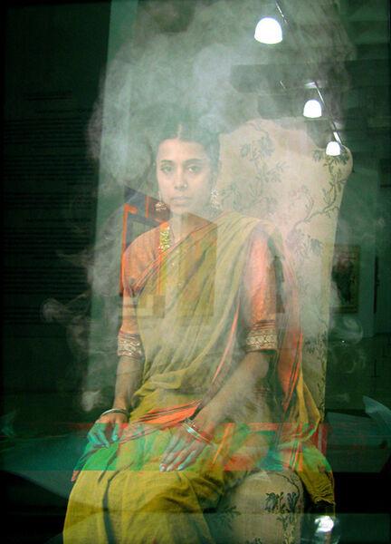 Paul Hodgson, 'Portrait in Smoke and Steam', 2006