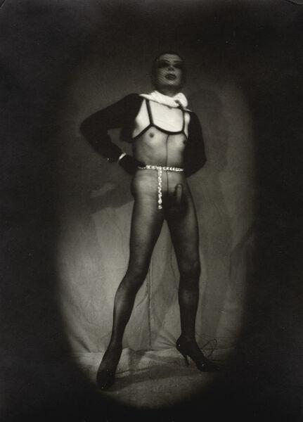 Pierre Molinier, 'Autoportrait avec masque', 1975