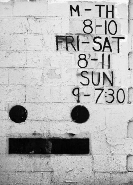 Shannon Ebner, 'Work Face', 2013