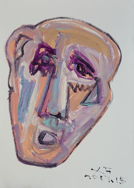 Xianfeng Zhao, 'Face II', 2017