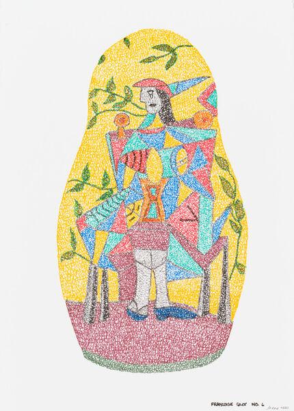 Irene Lees, 'Francoise Gilot No.6', 2019