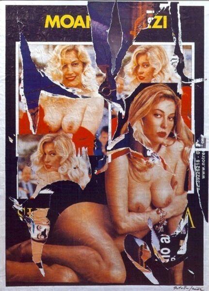 Mimmo Rotella, 'Venere', 2002