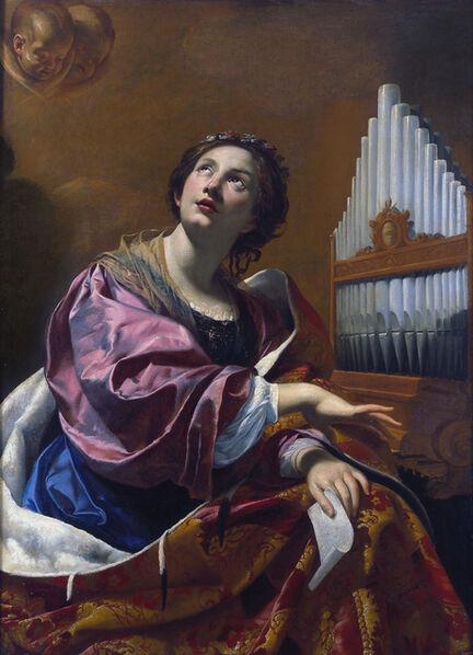 Simon Vouet, 'Saint Cecilia', 1625